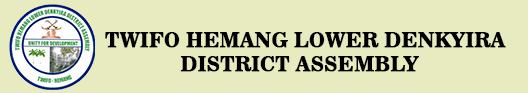 TWIFO HEMANG LOWER DENKYIRA DISTRICT ASSEMBLY Logo