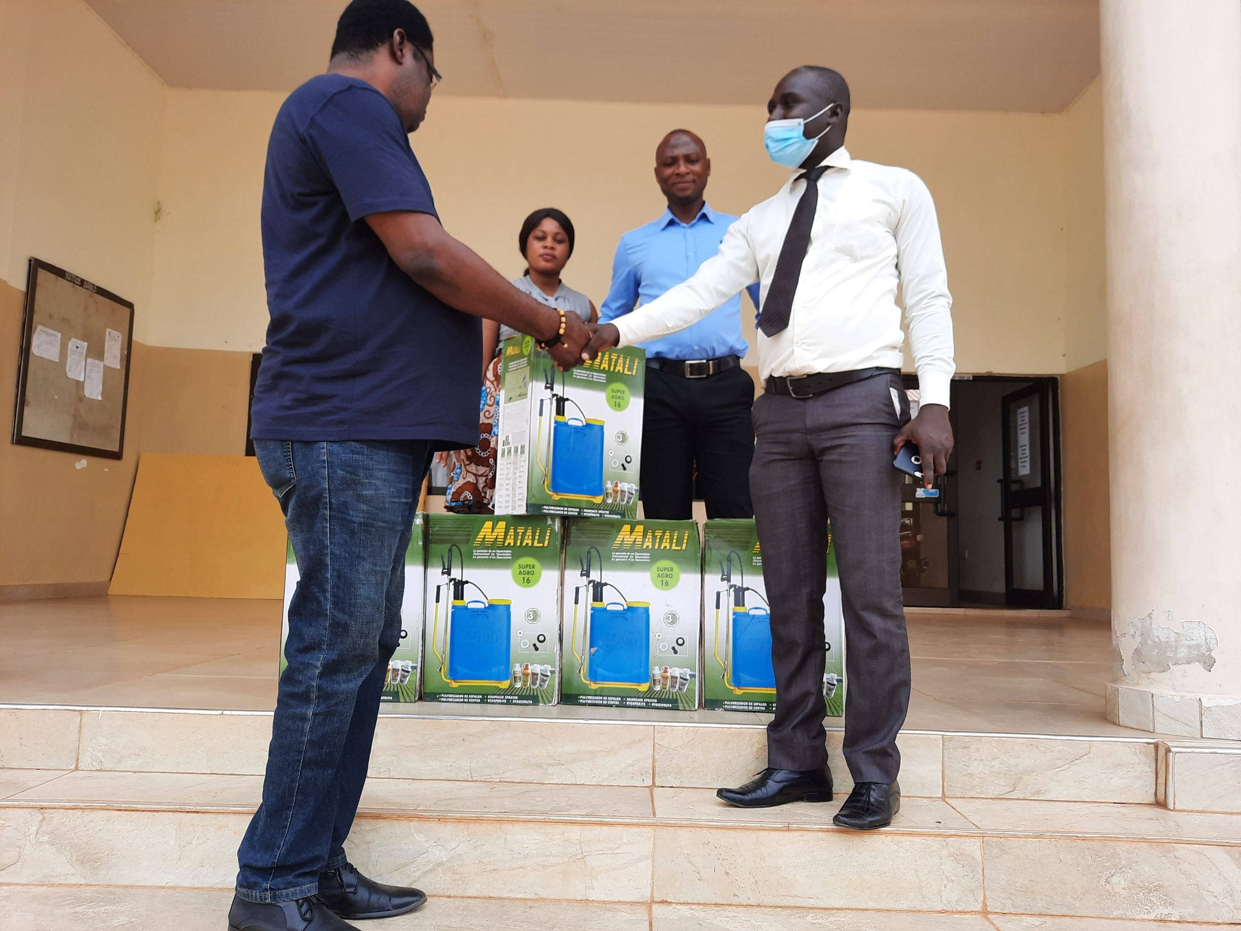 Presentation of Items by Assinman Rural Bank towards the Farmers Day Celebration